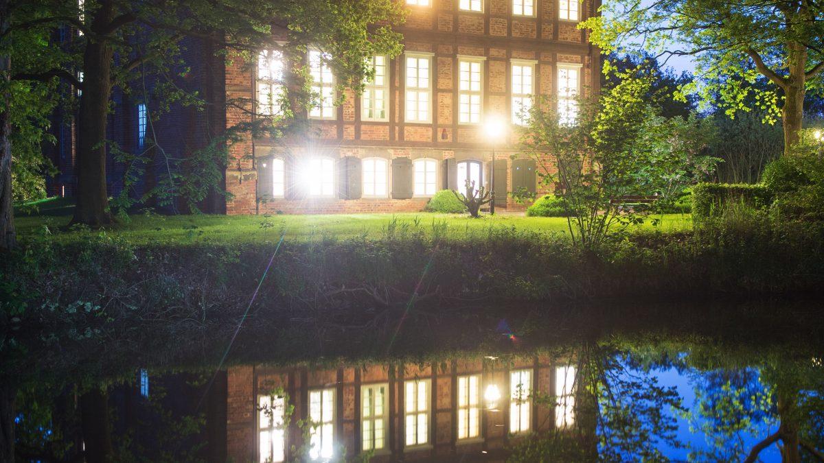 Lange Nacht der Museen am 20.05.2017 in Bremen. Schloss Schönebeck.