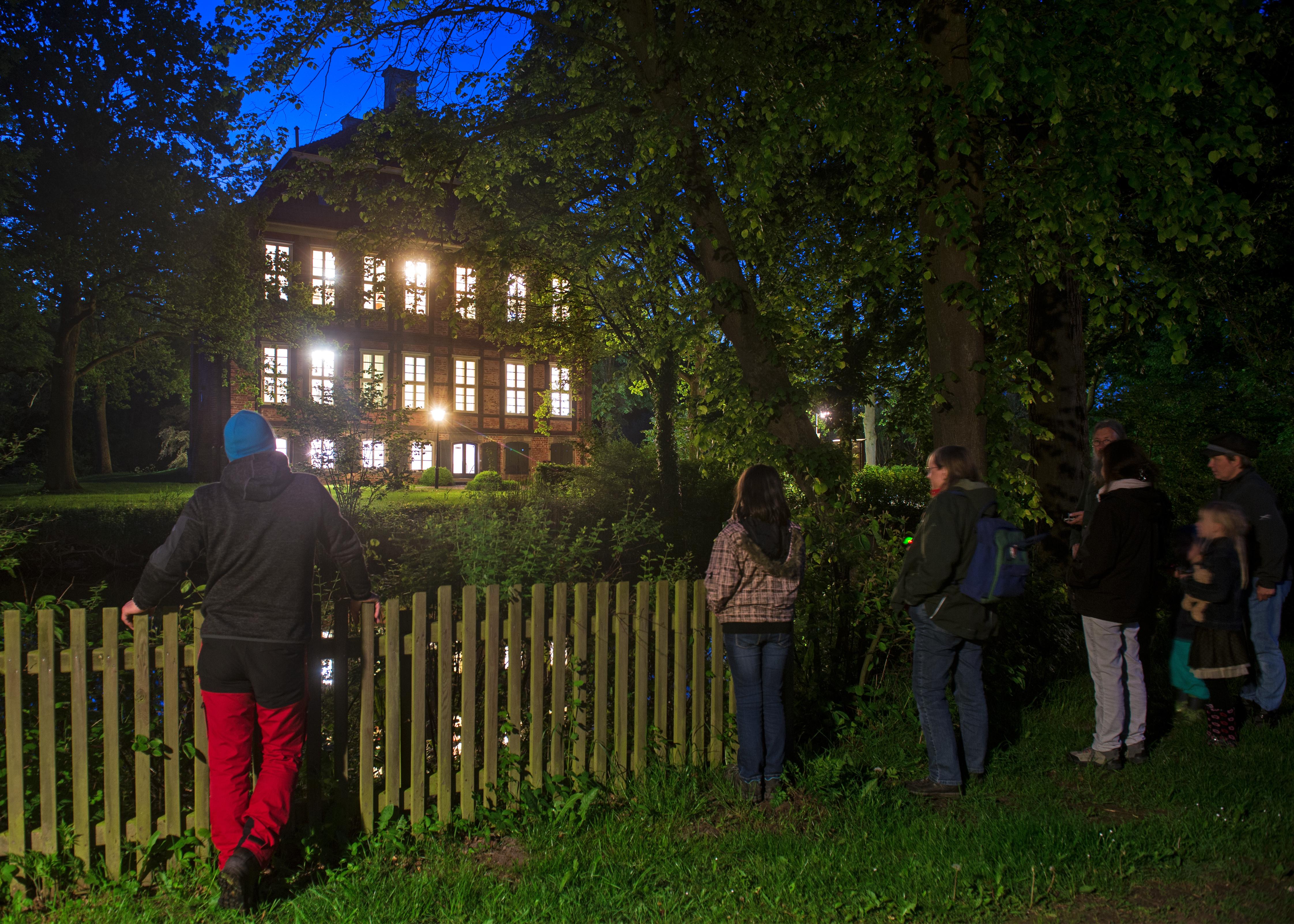 Lange Nacht der Museen am 20.05.2017 in Bremen. Schloss Schönebeck in St. Magnus.