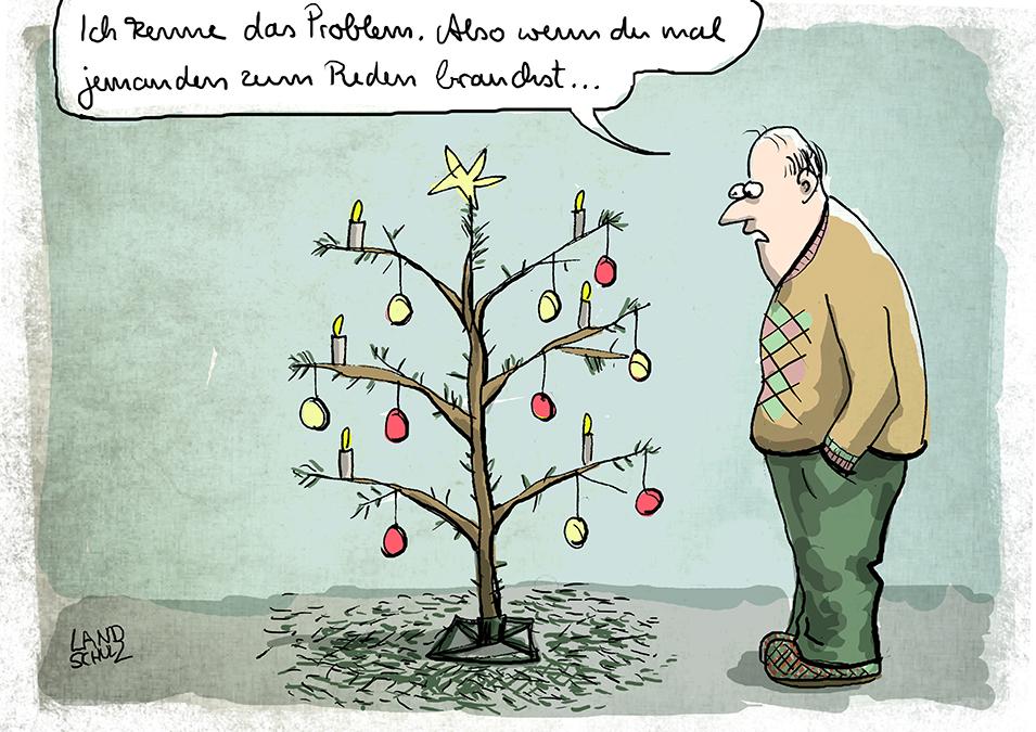 Weihnachtsbaum Cartoon