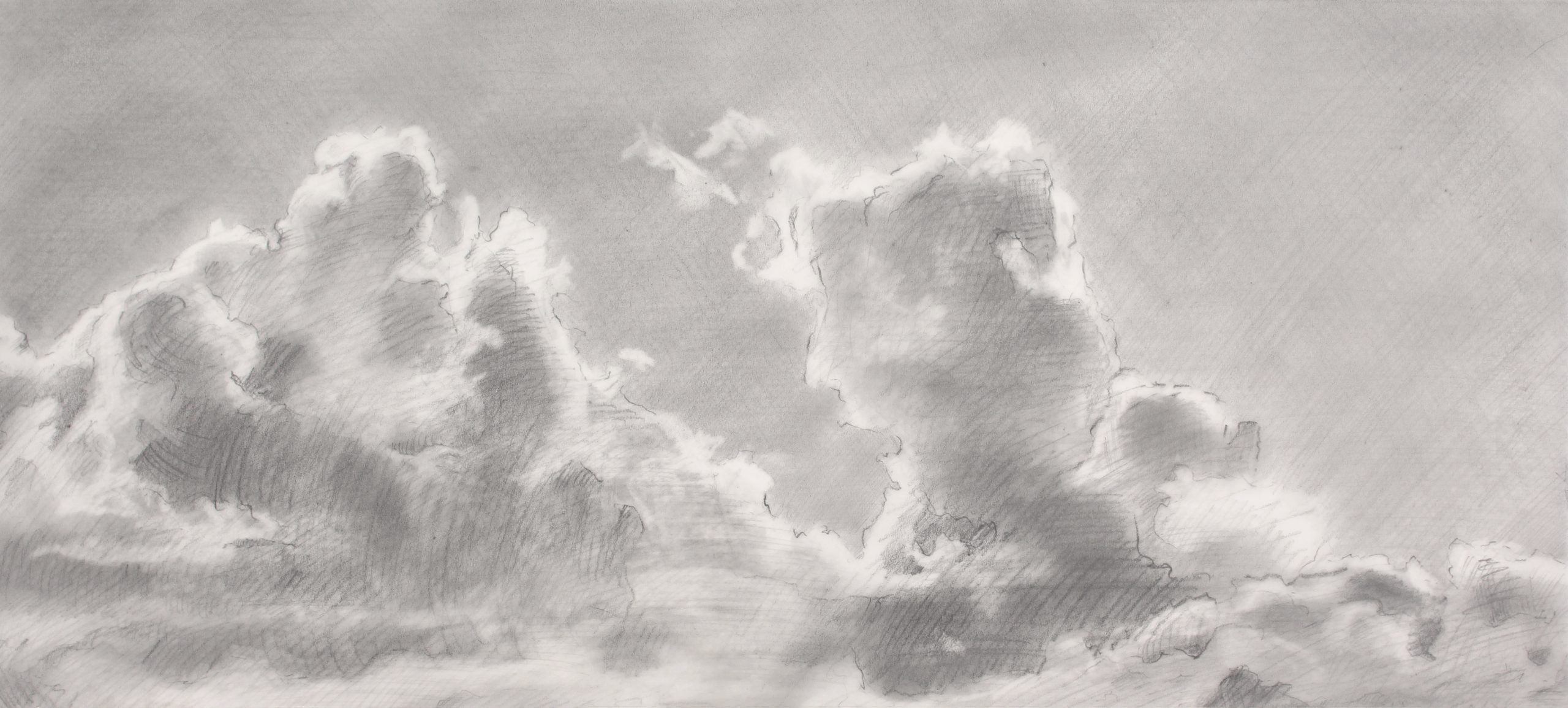 Zeichnung Wolken